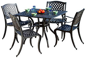 Christopher Knight Home Marietta Outdoor Furniture Dining Set