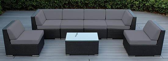 Ohana 7-Piece Outdoor Patio Furniture Set