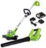 Greenworks STBA24B210 24V Combo Kit