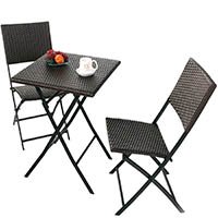 Grand Patio Rattan Bistro Set