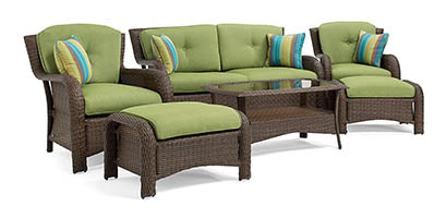 La-Z-Boy Sawyer 6 Piece Outdoor Furniture Set